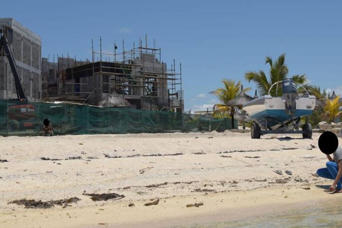 [Diaporama] L'hôtel Preskil à Pointe Jérôme souhaite-t-il construire encore plus près du rivage ?