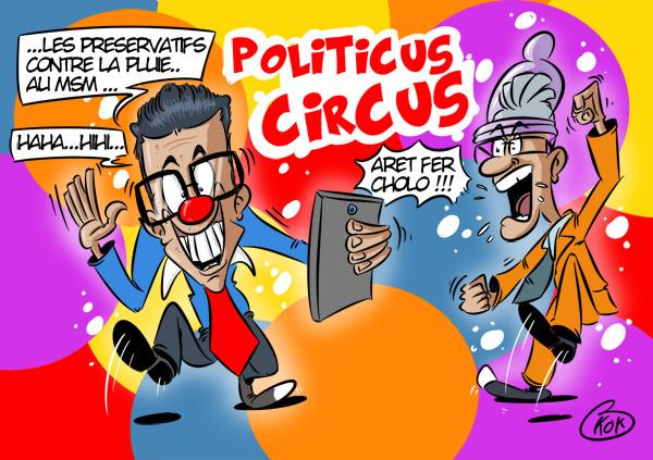 [KOK] Le dessin du jour : Politicus Circus