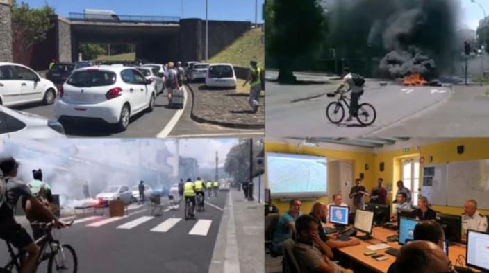 [Diaporama] Retour sur la journée de manifestations à La Réunion