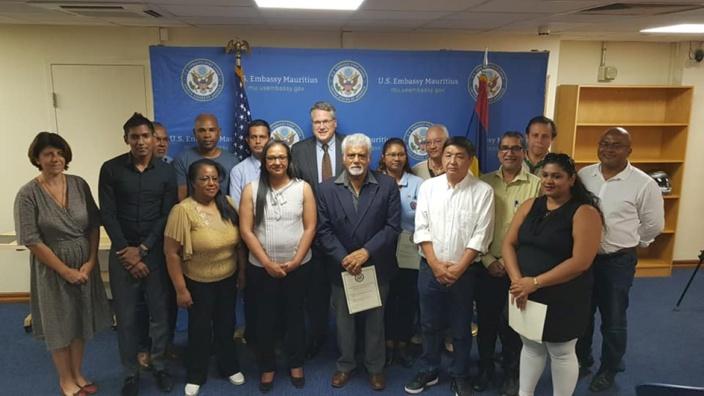 L'ambassade américaine accorde une subvention de 40 000 dollars à des ONG mauriciennes