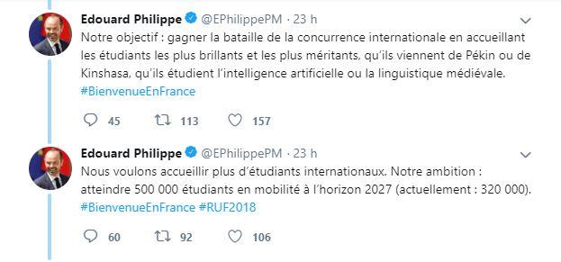 Universités : Le droit d'inscription des étudiants étrangers va augmenter en France