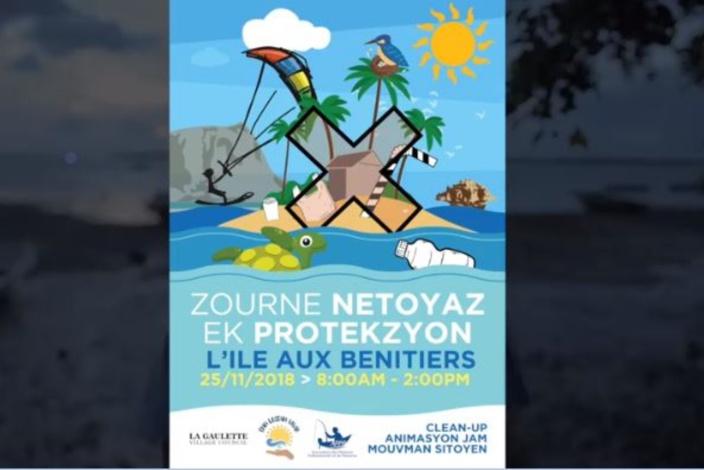 Ile aux Bénitiers : Journée de protection et nettoyage ce dimanche