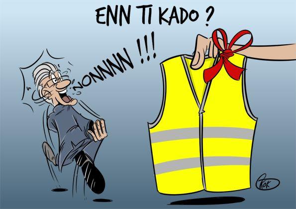[KOK] Le dessin du jour : Enn ti Kado Pravind ?