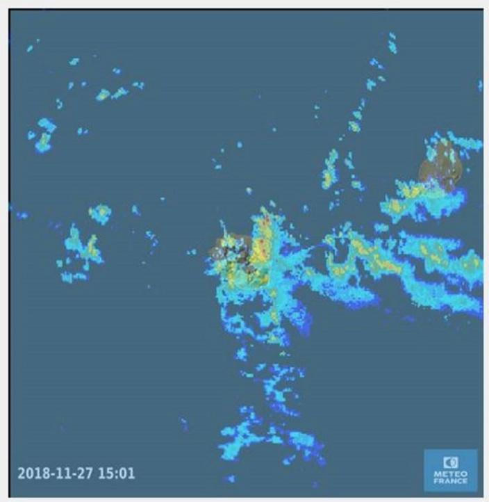 Météo : Un avis de forte pluies reste en vigueur à Maurice