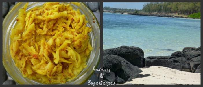 La recette d'Emmanuelle : Koutia de Mangues & Fleur de Sel de Maurice