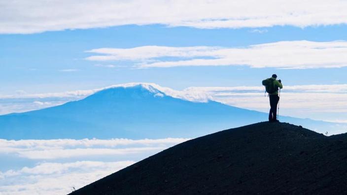 [Diaporama] 7 Summits Africa-Team Mauritius : Mont Meru