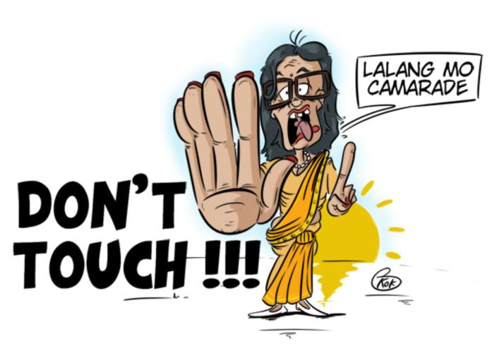 [KOK] Le dessin du jour : Don't Touch !