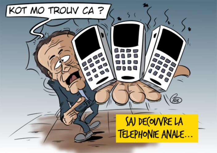L'actualité vu par KOK : La Téléphonie Anale