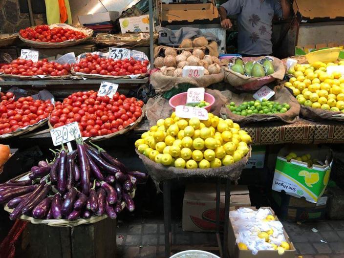 Marché de Port-Louis. Crédit photo Zinfos Moris.