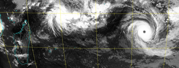CILIDA prévisions : cyclone intense Samedi