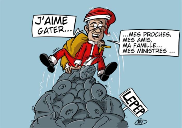 [KOK] Le dessin du jour : Le Père Noël est une...
