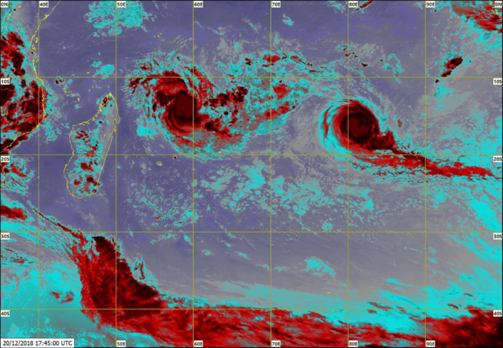 CILIDIA devenue un cyclone tropical intense !