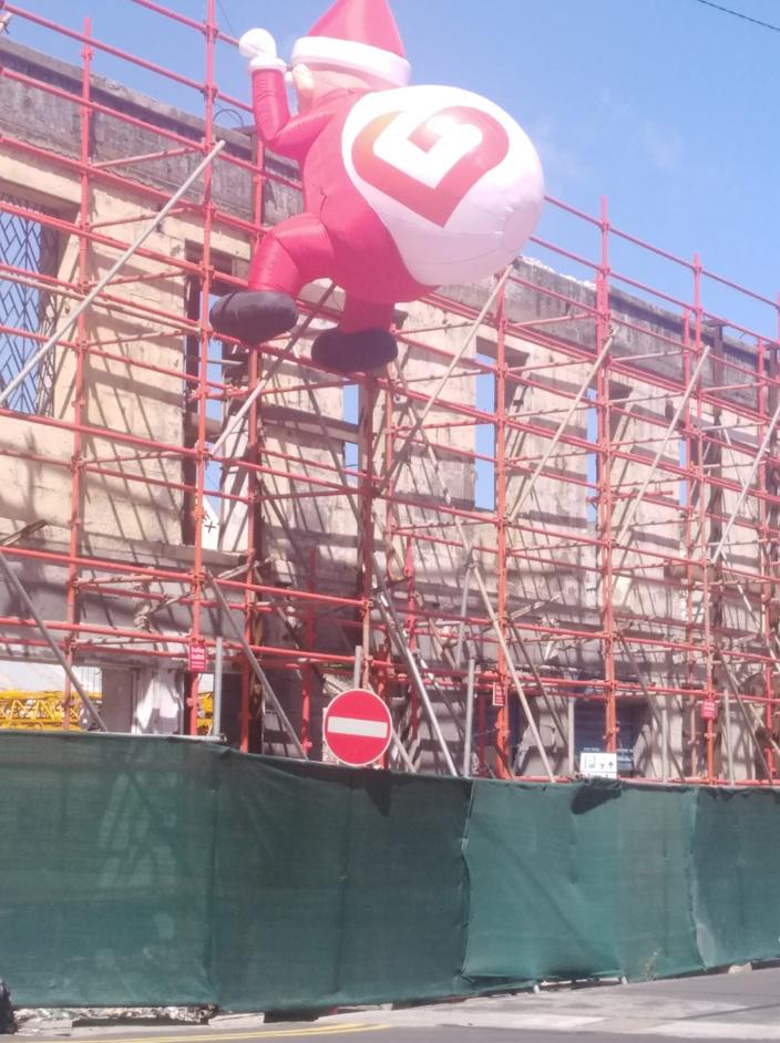 L'image du jour : Bolom Noël à Port-Louis