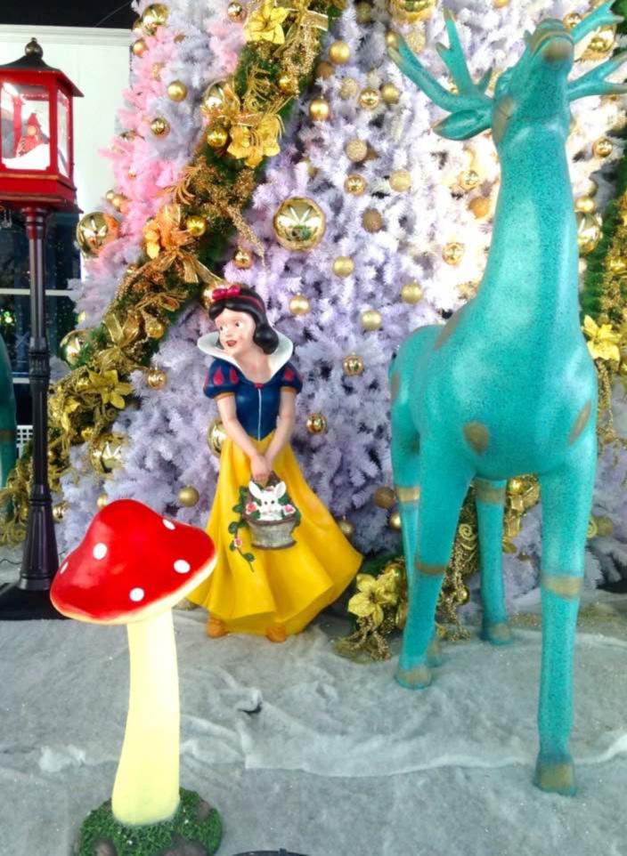 [Diaporama] Quand Plaisance se déguise en Disney pour les fêtes de Noël !