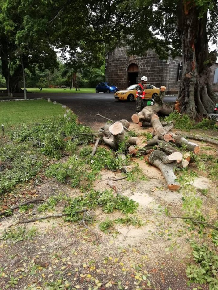[Diaporama] CILIDA : L'alerte 2 maintenue, les pompiers et la SMF sur le terrai
