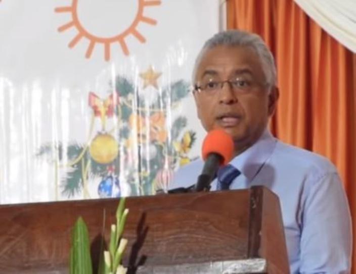 Fête de fin d'année du comité régional à St Pierre : « Mo bien exité pou 2019»