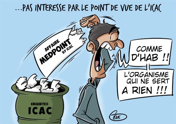 [KOK] Le dessin du jour : Affaire Medpoint by ICAC