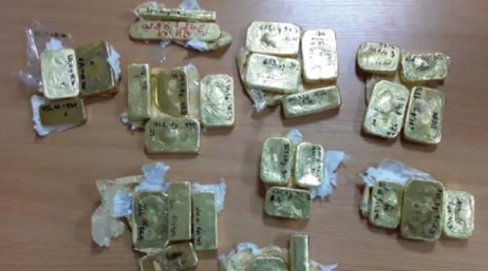 Plaisance : Trois Malgaches en transit avec 25,5 kg d'or dans leurs bagages