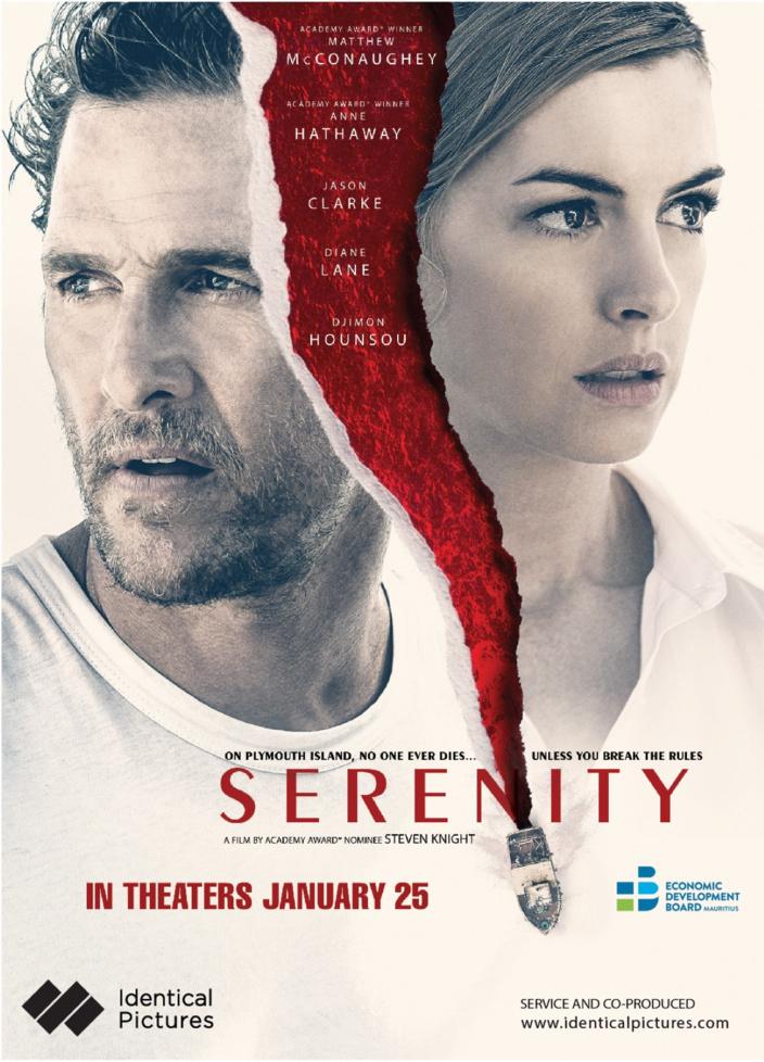 [Vidéo] SERENITY (2019) | Behind the Scenes of Thriller Movie