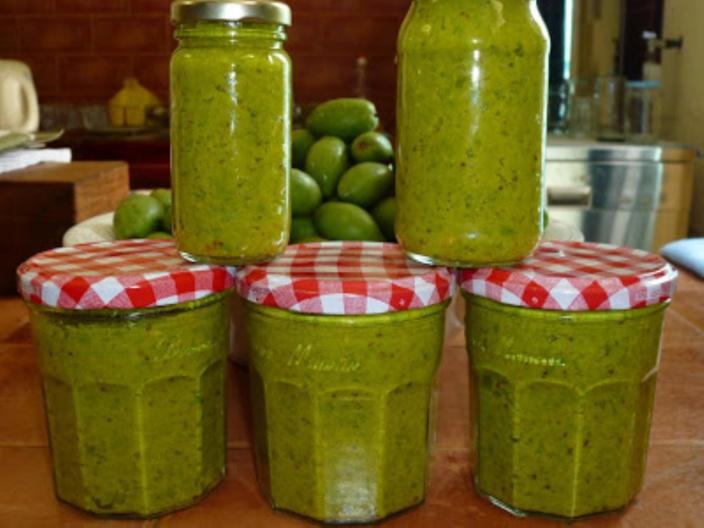 La recette d'Emmanuelle : Piment Olives de Rodrigues