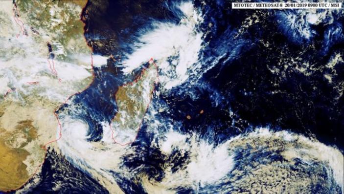 La tempête tropicale baptisée Desmond est à 1685 km de La Réunion