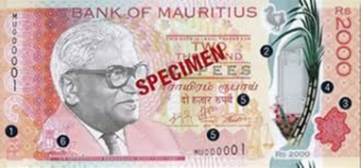 Nouveau billet Rs 2000.