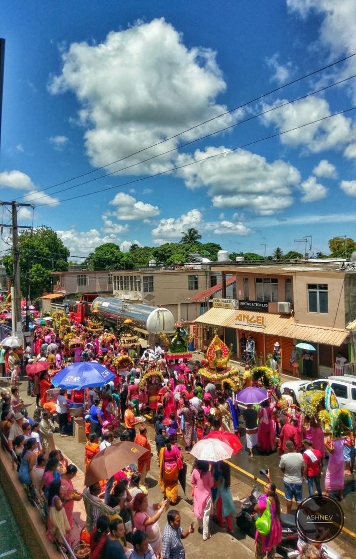 [Diaporama] Thaipoosam Cavadee 2019 à Triolet