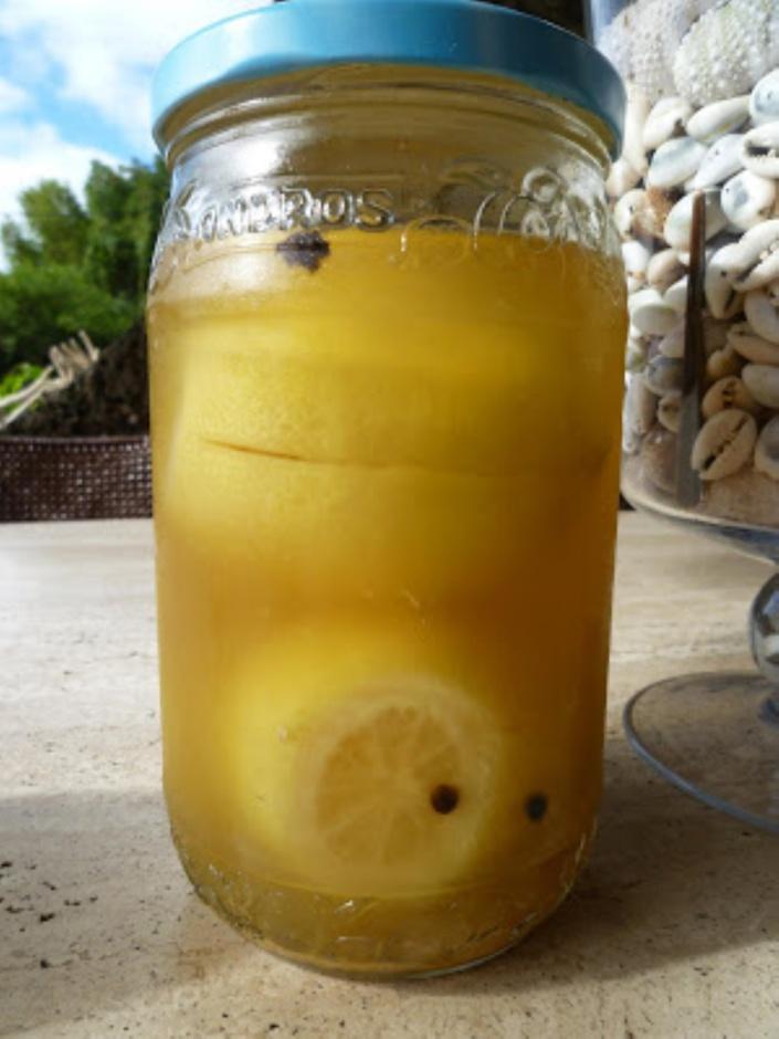 La recette d'Emmanuelle : Citrons Confits au Sel