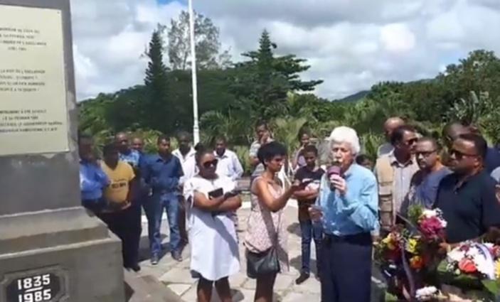 Bérenger : « Les esclaves marrons étaient les premiers résistants »