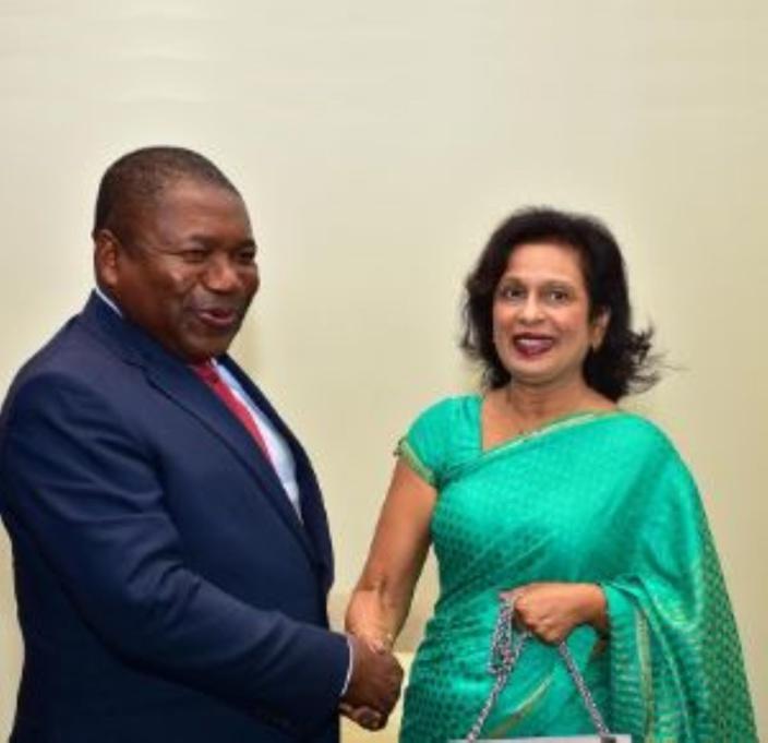 Le nombre de femmes au Parlement mozambicain intéresse Maya Hanoomanjee