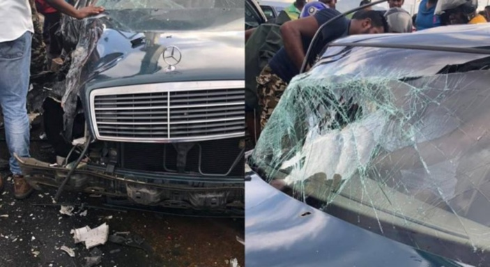 Accident à Cascavelles : Le chauffeur s'est retrouvé coincer dans son véhicule