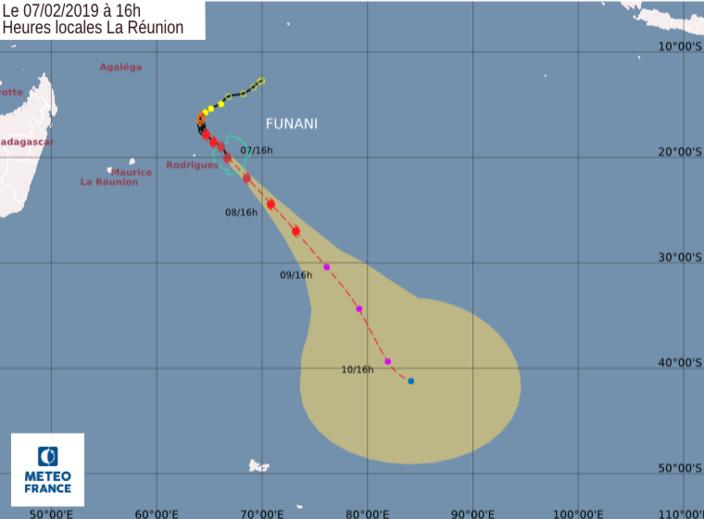 Funani s'éloigne, Gelena se rapproche et sera un cyclone tropical intense d'ici ce soir