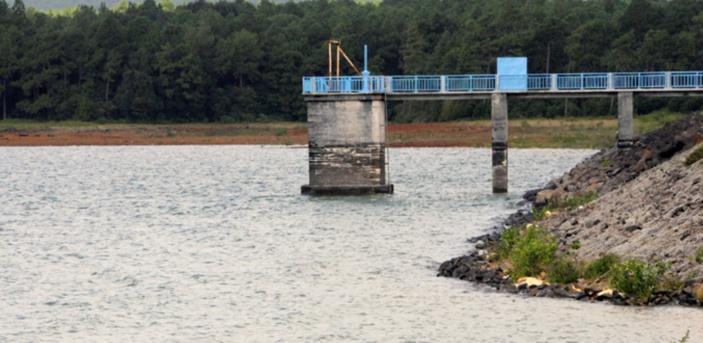 Le réservoir de Mare-aux-Vacoas