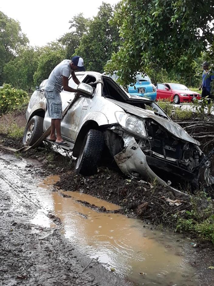 Accident à Souillac, fort heureusement aucun blessé