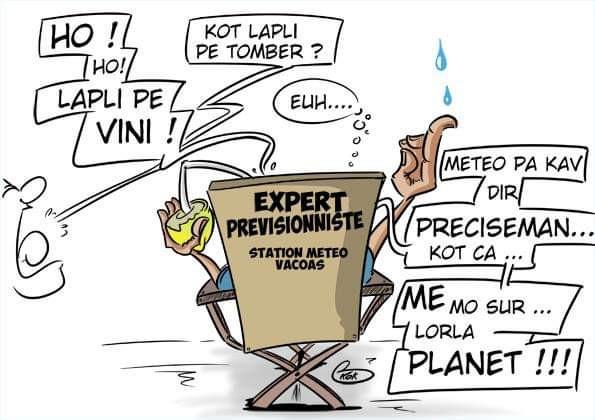 [KOK] Le dessin du jour : Expert prévisionniste
