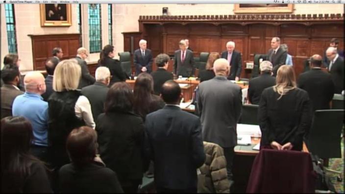 """""""Fuite"""" dans la presse :  Le Privy council exige des explications"""