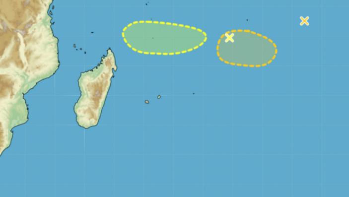 Activité cyclonique : risque de formation d'une tempête tropicale modérée samedi puis fort à partir de lundi