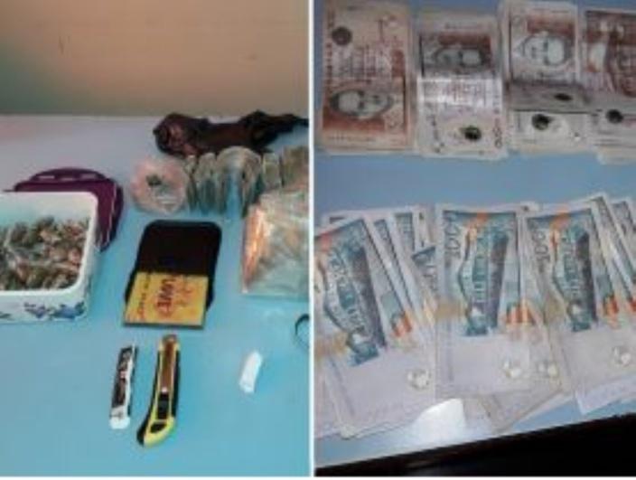 Grand-Gaube : Drogue et une somme de Rs 517 975 retrouvées chez un maçon