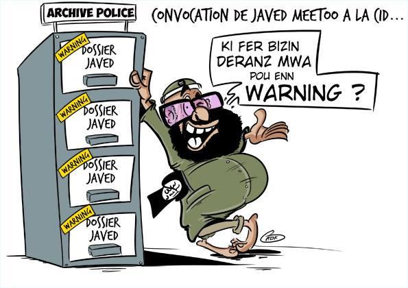 [KOK] Le dessin du jour : Convocation de Javed au CID !