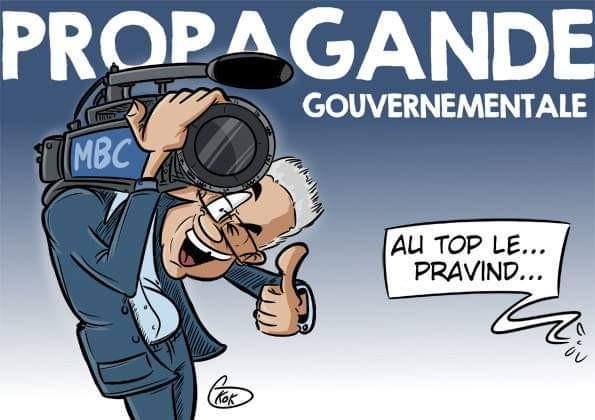 L'actualité vu par KOK : Propagande gouvernementale