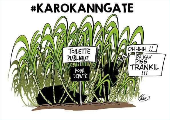 [KOK] Le dessin du jour : #KaroKannGate
