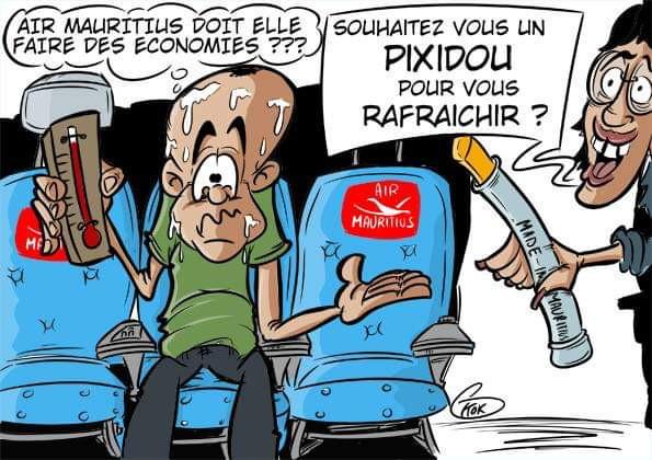 L'actualité vu par KOK : Les p'tites économies de Air Mauritius sur ces vols