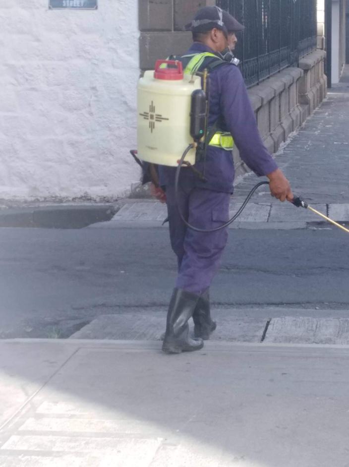 Dengue : Exercice de fumigation dans les rues de la capitale