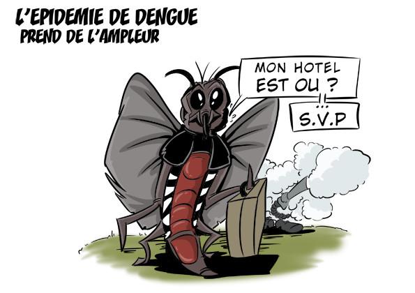 [KOK] Le dessin du jour : L'épidémie de dengue prend de l'ampleur