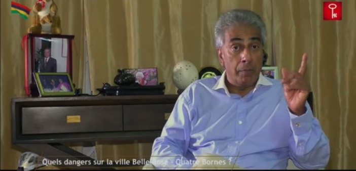 [Vidéo] Metro Express ville de Belle-Rose/Quatre-Bornes : Arvind Boolell lance un appel à Nando Bodha