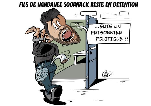 """L'actualité vu par KOK : Le """"prisonnier"""" politique"""