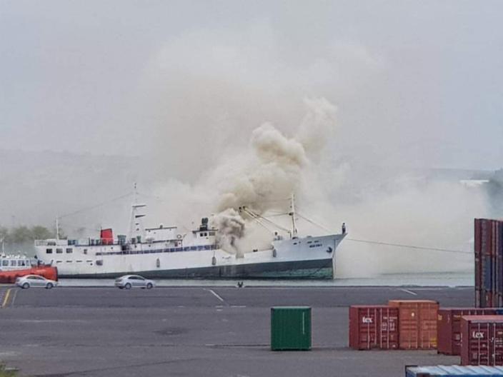 Port-Louis : Deuxième incendie dans la zone portuaire en moins d'une semaine