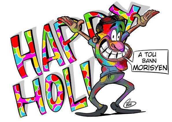 [KOK] Le dessin du jour : Happy Holi