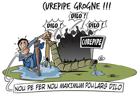 [KOK] Le dessin du jour : La grogne à Curepipe !