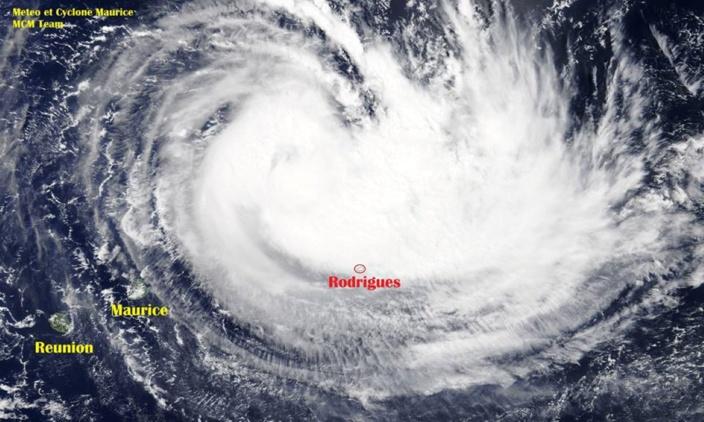Le cyclone tropical JOANINHA est désormais une menace directe pour Rodrigues